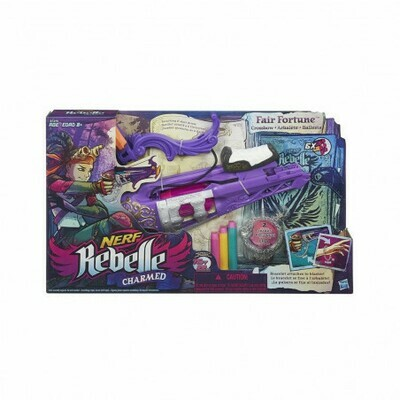 NERF REBELLE CHARMED ARCO FAIR FORTUNE
