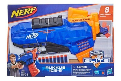 NERF ELITE RUKKUSI ICS 8