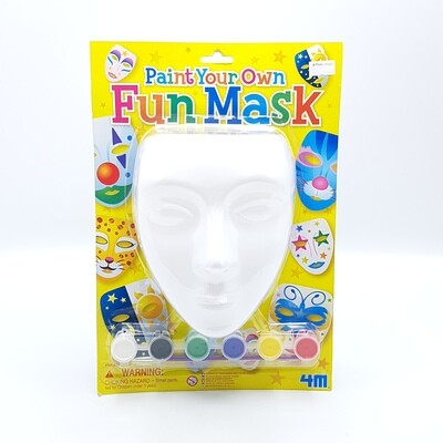 PAINT YOUR OWN FUN MASK 4M