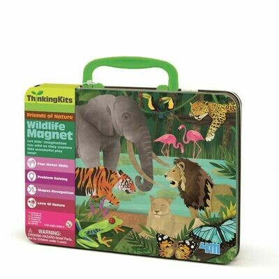 ILLUSTRATION MAGNETS WILDLIFE THINKINGKITS 4M