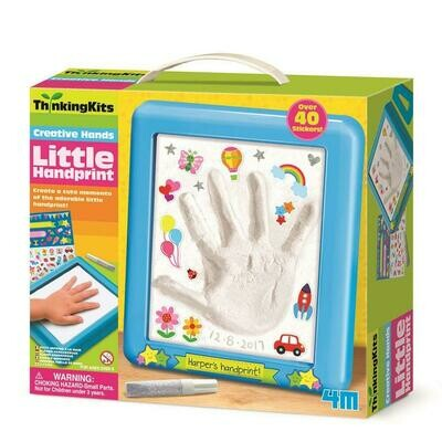 LITTLE HAND PRINT THINKING KITS 4M