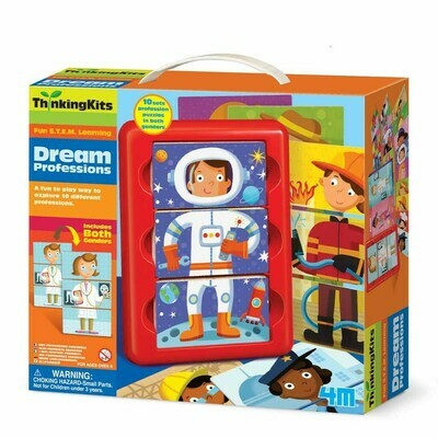 DREAM PROFESSIONS THINKING KITS 4M
