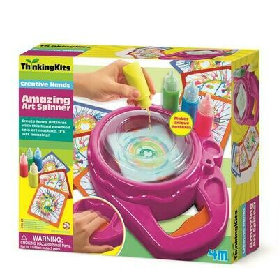 AMAZING ART SPINNER THINKING KITS 4M