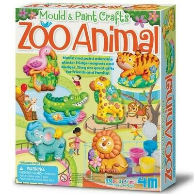 MOULD & PAINT ZOO 4M