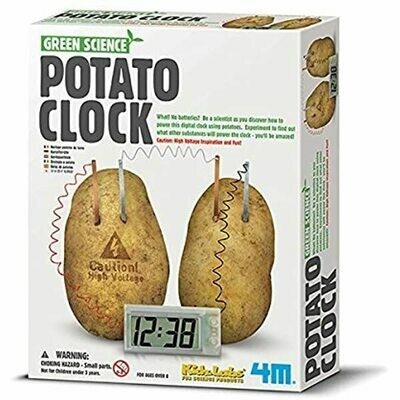 GREEN SCIENCE POTATO CLOCK 4M