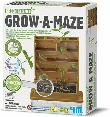 Green Science Grow-A-Maze 4M