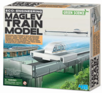 MAG LEV TRAIN MODEL ECO ENGINEERING 4M