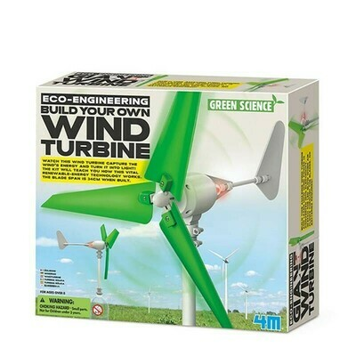 ECO ENGINEERING / BUILD YOUR OWN WIND TURBINE 4M