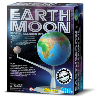 KIDZ LABS EARTH-MOON MODEL MAKING KIT 4M