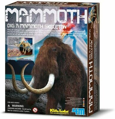 KIDZ LABS MAMMOTH SKELETON 4M