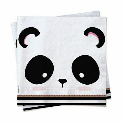 SERVILLETA PANDA CLOSE 25x25 C/20 FOLHAS