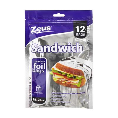 BOLSA SANDWICH BAGS 12PK