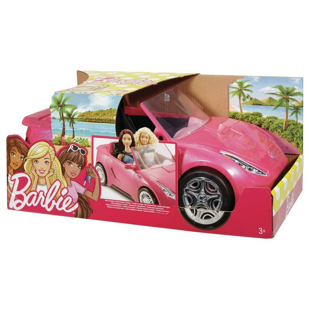BARBIE CARRO CONVERTIBLE GLAM