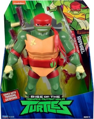 TORTUGAS NINJA RISE OF FIG. GIGANTE 10 1/2