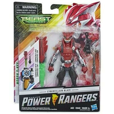 POWER RANGER 6IN BMR FIG BLAZE