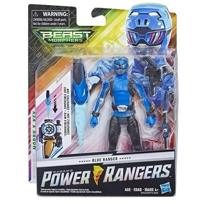 POWER RANGER 6IN BMR FIG BLUE RANGER