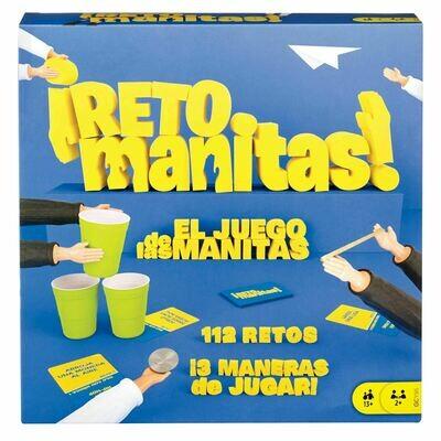 JUEGO MATTEL RETO MANITAS