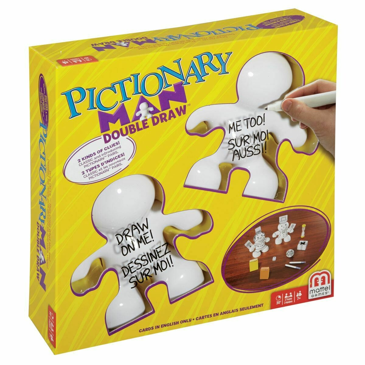 JUEGO MATTEL PICTIONARY MAN DOBLE RETO