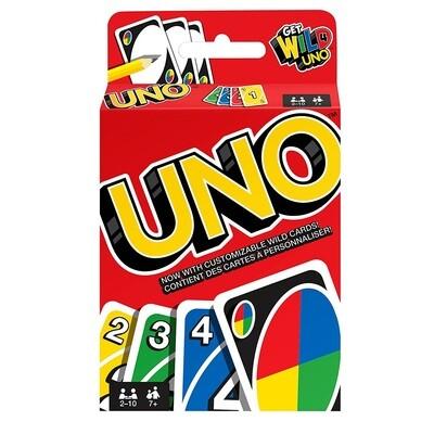 UNO GAME CARTAS W2085