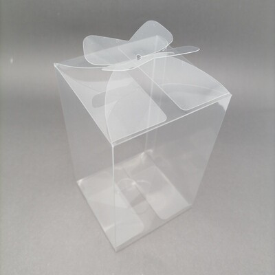 PACKAGING TRANSP YY-7 Y604 7.5*7.5*12.5CM*3PCS/PVC