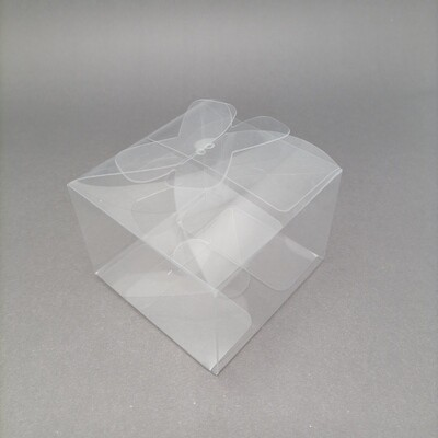 PACKAGING TRANSP YY-8 Y604 7*7*5CM*4PCS/PVC