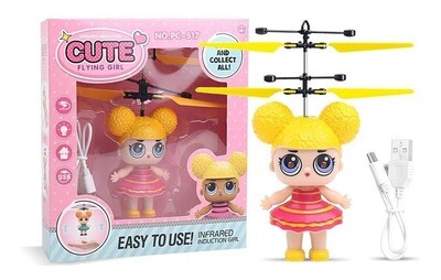 HELI SURPRISE PC-517 Y732 CUTE FLYING GIRL
