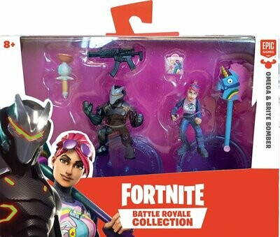 FORTNITE BATTLE ROYAL S1 PACK X 2 FIG