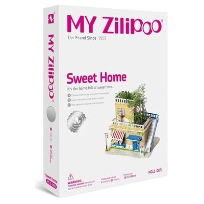 ROMPECABEZA 3D MAQUETITAS MY ZILIPO Z001 Y781 SWEET HOME