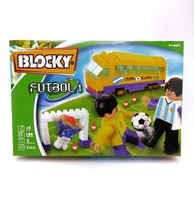 BLOCKY FUTBOL 1 90PZS