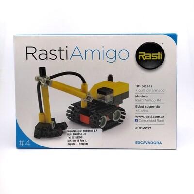 RASTI AMIGO 4 EXCAVADORA 110PZS