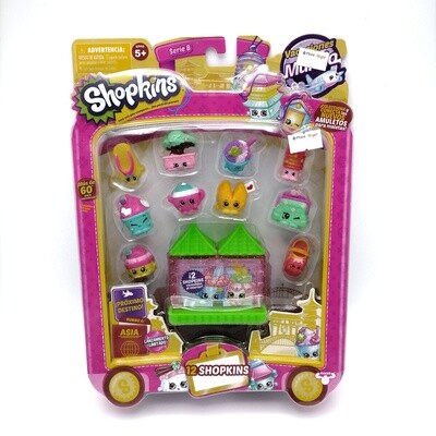 SHOPKINS PACK X12 S8 ASIA