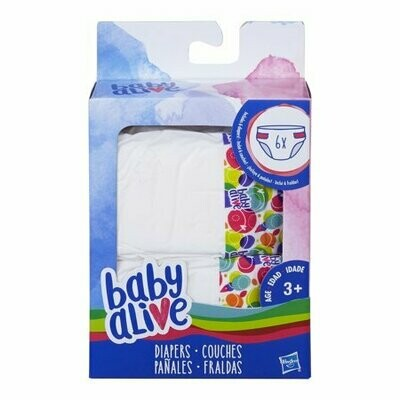 BABY ALIVE PAÑALES