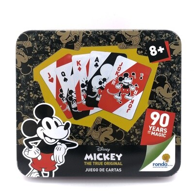 RONDA JUEGO DE CARTAS MICKEY 90 AÑOS