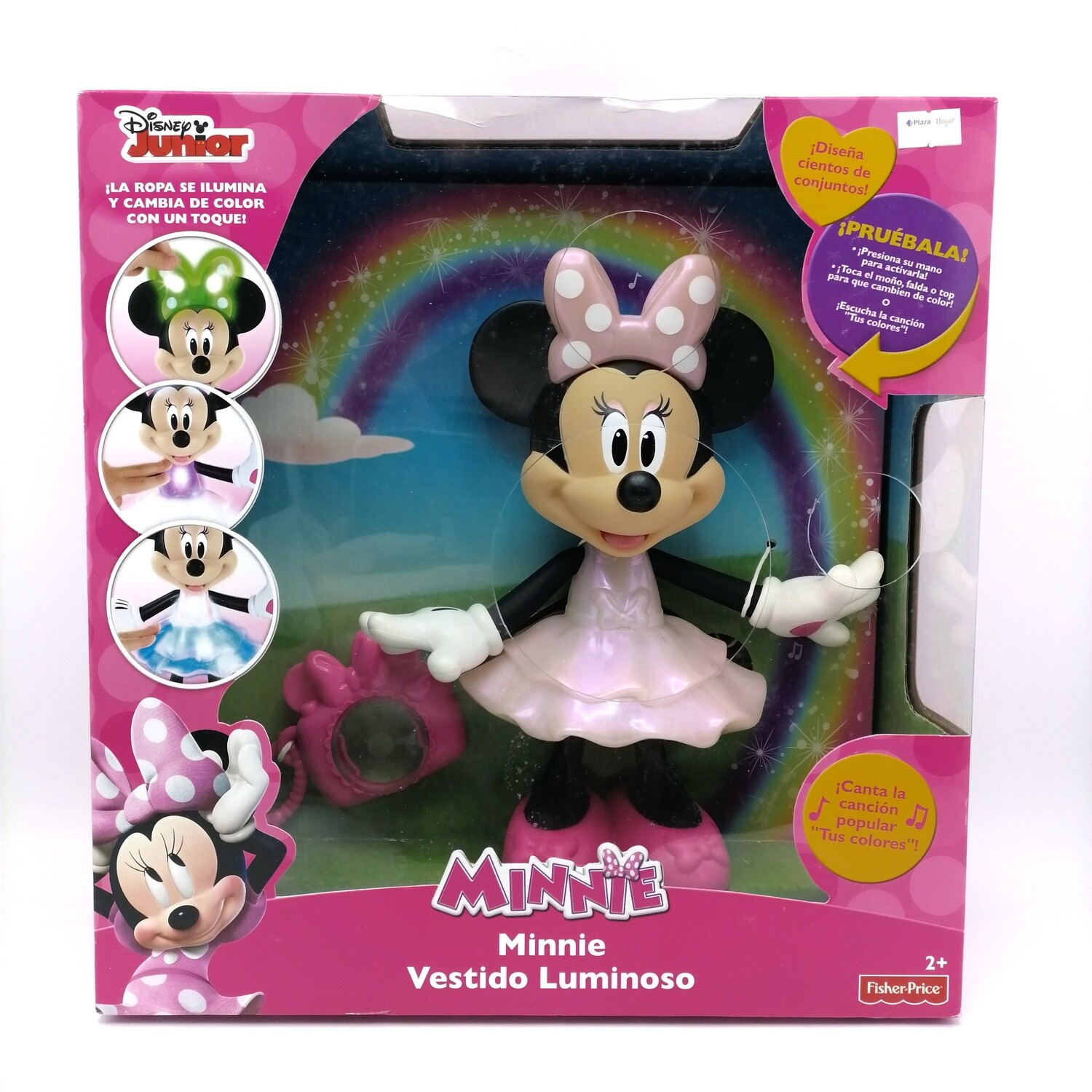 MINNIE FP ARCO IRIS LUMINOSO