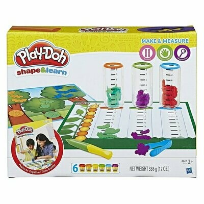 PLAYDOH MAKE AND MEASURE