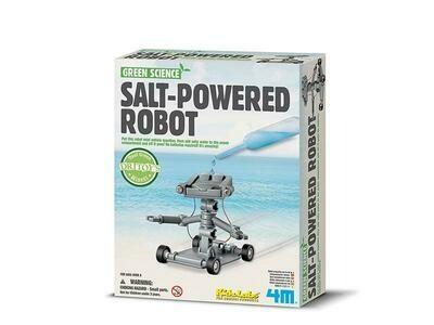 SALT POWERED ROBOT GREEN SCIENCE 4M