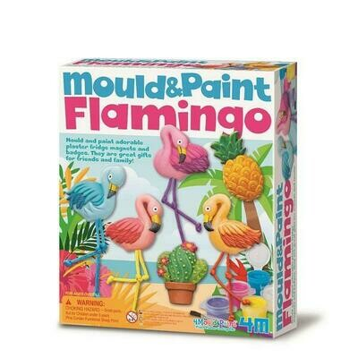MOULD & PAINT FLAMINGO 4M