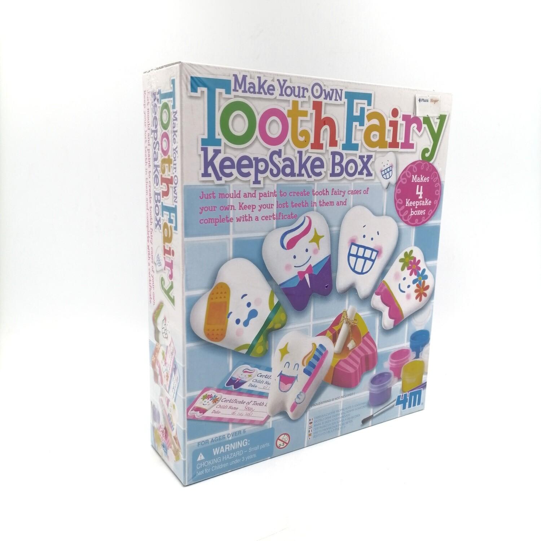 Make Your Own Tooth Fairy Keepsake Box 4M