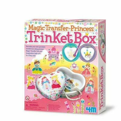 MAGIC TRANSFER PRINCESS TRINKET BOX 4M