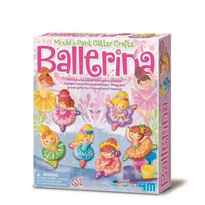 MOULD & PAINT / GLITTER BALLERINA 4M