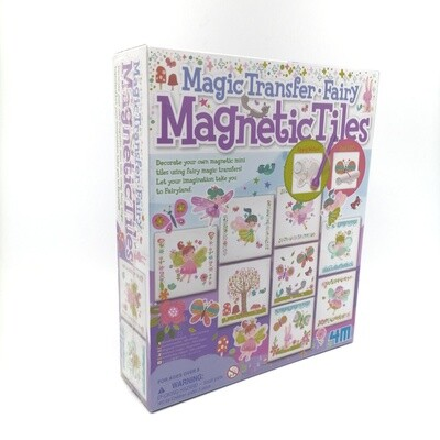 MAGIC TRANSFER FAIRY MAGNETIC TILES 4M