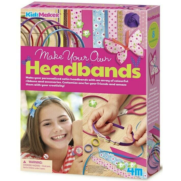 MAKE YOUR OWN HAIRBANDS 4M