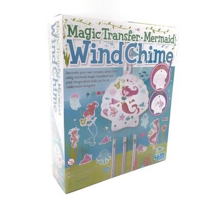MAGIC TRANSFER MERMAID WIND CHIME 4M