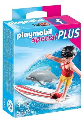 SURFISTA C/TABLA DE SURF PLAYMOBIL