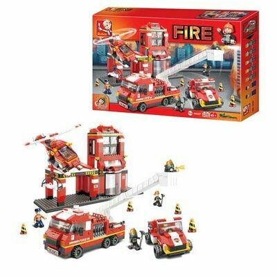 SLU FIRE STATION 745PCS