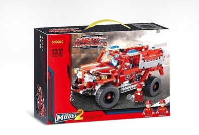 BLOQUES FIRE FIRST RESPONDER DE COOL 523PCS 3375 Y545