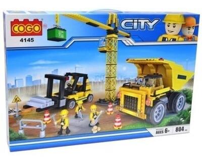 COGO BLOQUE DIDACTICO CONSTRUCCION COGO 804PCS