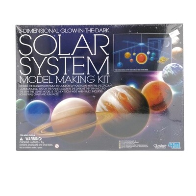 KIDZ LABS 3D SOLAR SYSTEM MOBILE MAKING KIT 4M