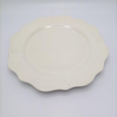 Plato 27 cm Kimberley Blanco Oscuro VARAGE