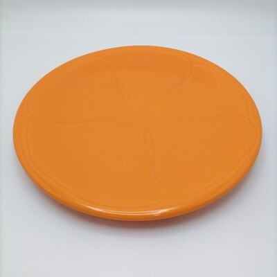 Plato Hibisco Naranja VARAGE